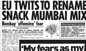 Sun article on Bombay mix