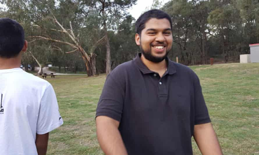 Ismail Talib, pictured in Australia, was arrested with his father in July.
