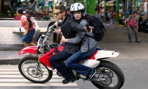 Jeremy Renner and Rachel Weisz in The Bourne Legacy.