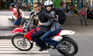 Jeremy Renner and Rachel Weisz in The Bourne Legacy, Tony Gilroy's directorial contribution to the series.