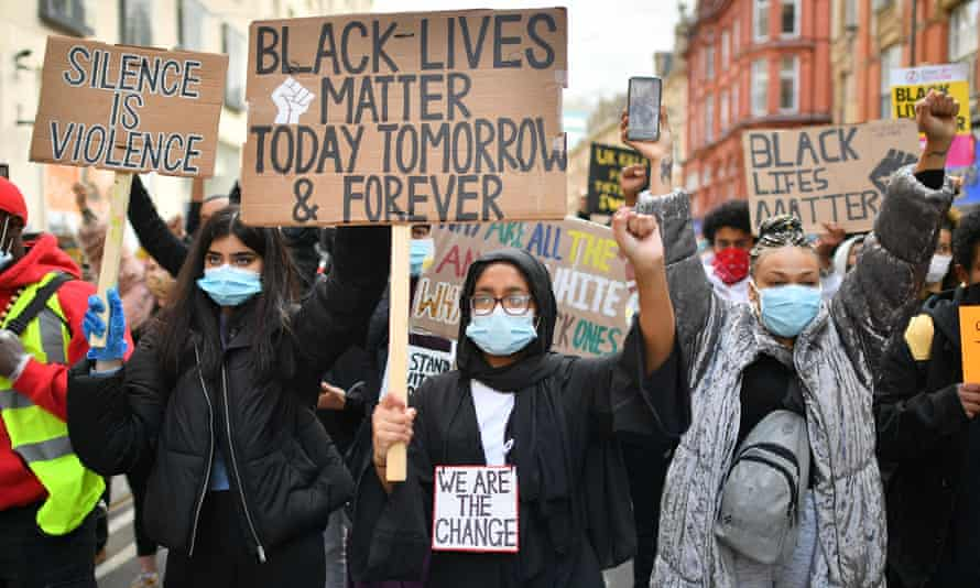 George Floyd's death took place thousands of miles away but the cry for racial justice was felt deeply in the UK.