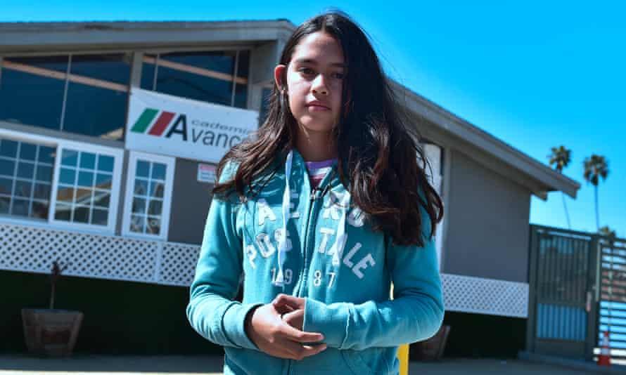 Fatima Avelia filmed her father's arrest.