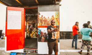 Ghana's moveable museum goes on the road