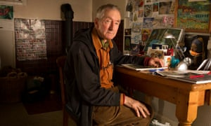 'I'm so glad I've been able to make such an impression on people.' … Raymond Briggs at home in 2015.