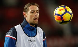 Peter Crouch could swap a sub's role at Stoke for one at Chelsea before January is up.