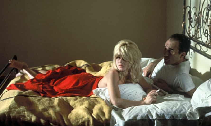Brigitte Bardot and Michel Piccoli in Le Mepris (Contempt)