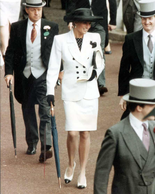 Princess Diana at Ascot 1991