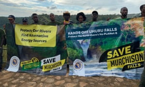 Members of the Association of Uganda Tour Operators , which represents more than 250 tourism businesses in the country, about the Murchison Falls dam project