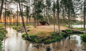 Finland's Hossa national park, close to the border with Russia.