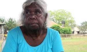 Annie Milgin, a Nyikina woman, runs the health clinic at Jarlmadangah. She say's living on country, with access to culture, makes young people 'strong'