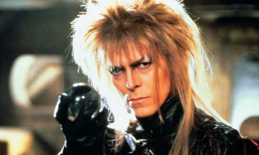 David Bowie in 1986's Labyrinth.