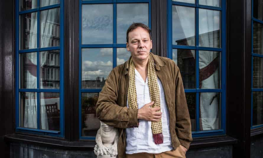 David Graeber in London in 2018. 'Huge swathes of people, in Europe and North America in particular, spend their entire working lives performing tasks they believe to be unnecessary,' he wrote.