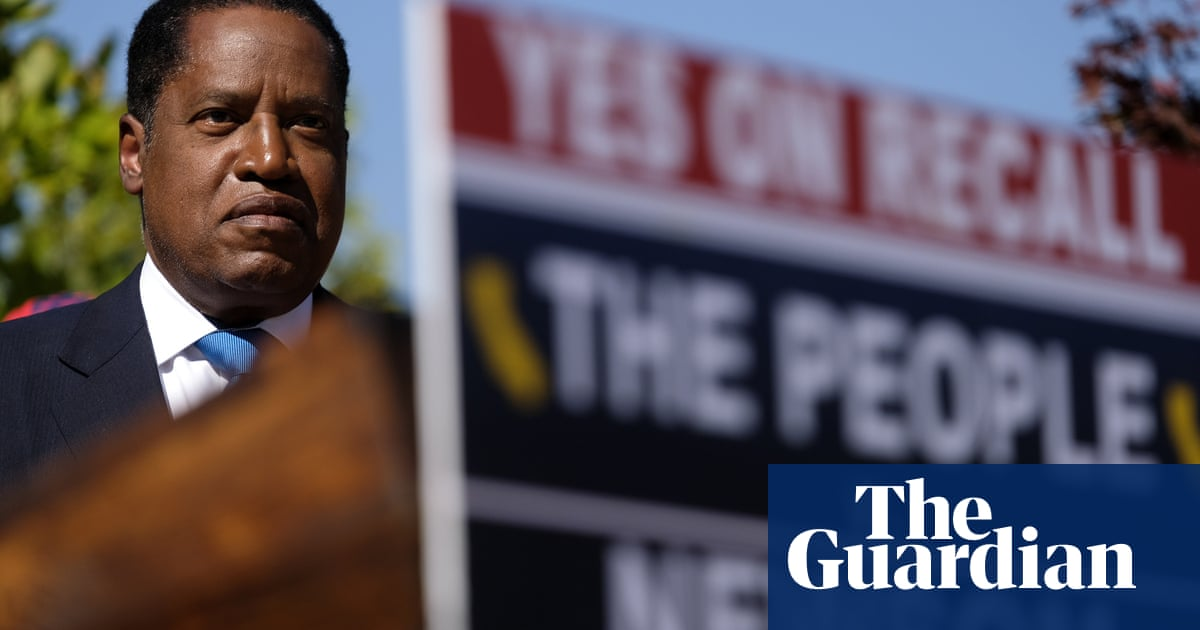 Larry Elder: defeated California recall challenger takes a page from Trump's big lie playbook