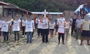 A detention centre on Nauru