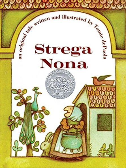 DePaola's traditional illustrations were matched by traditional stories