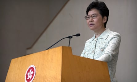 Carrie Lam has hinted at further measures to tackle the ongoing protests in Hong Kong, ahead of an annual policy speech.