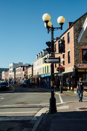 Street scene, St. John's, Newfoundland