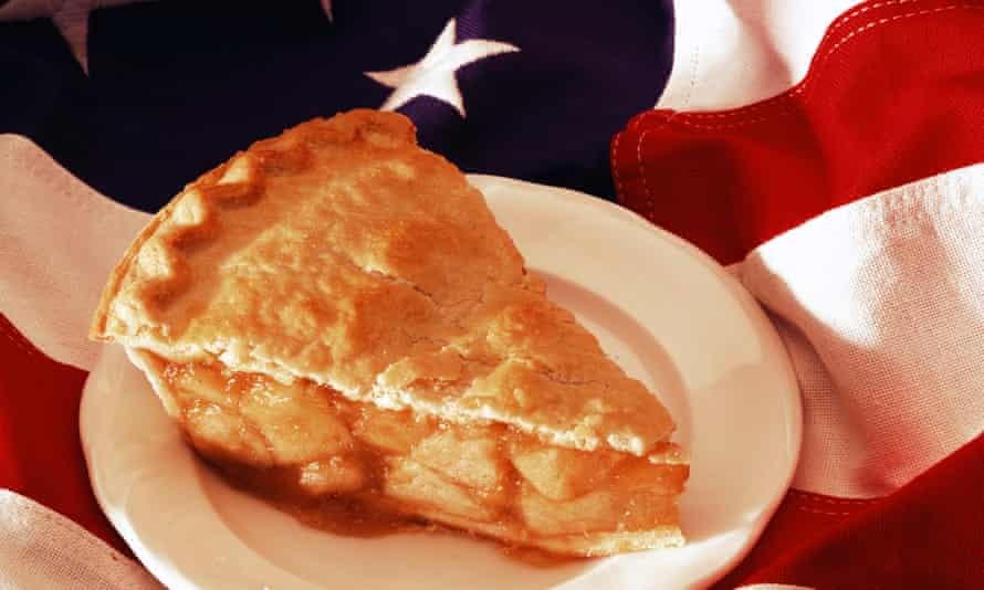 The apple pie, once featured in a collection of American symbols, is not as American as we think it is.