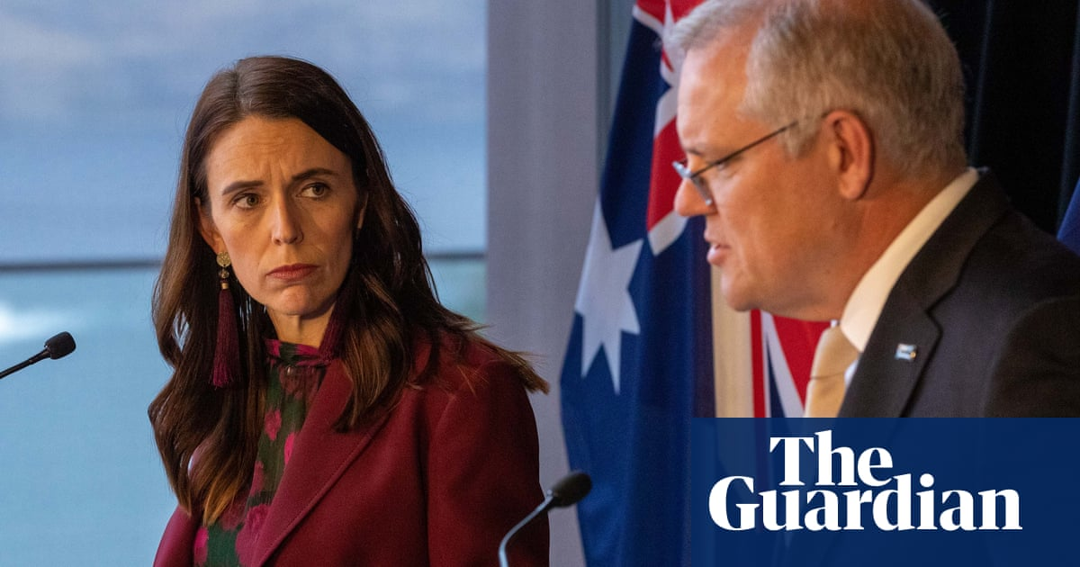 Ardern and Morrison present united front on China, warning of 'those who seek to divide us'