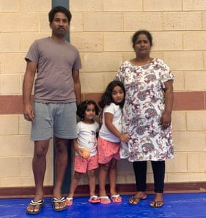 Tamil asylum seekers, Nades and Priya, and their Australian-born children Kopika and Tharunicaa remain in detention on Christmas Island. They hope to return home to Biloela.