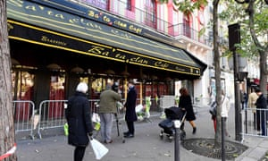The Bataclan concert hall, where 90 people were massacred during last year's Paris attacks.