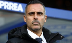 Jose Gomes watches his side take on QPR in December