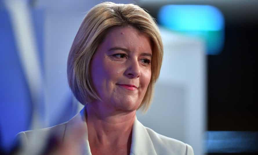 Our Watch chair Natasha Stott Despoja described how the pandemic was affecting men and women in different ways during an address to the National Press Club in Canberra on Wednesday .