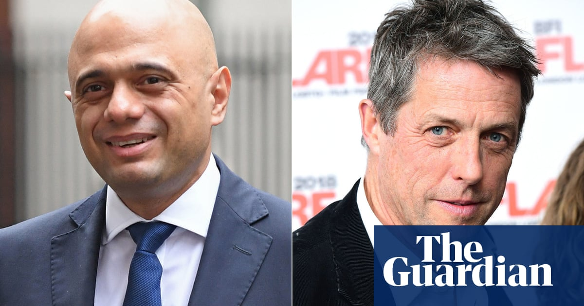 Hugh Grant hits back after being called incredibly rude by Sajid Javid