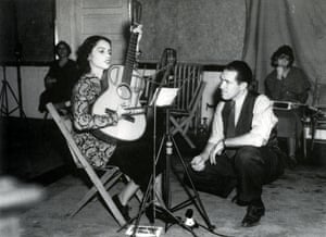 Lydia Mendoza, star of Tejano music, recording in San Antonio in the mid-1930s at the height of her fame.