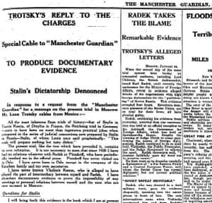 Manchester Guardian, 25 January 1937.