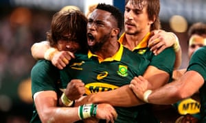 'I'm not only trying to inspire black kids but people from all races,' says the South African flanker Siya Kolisi.