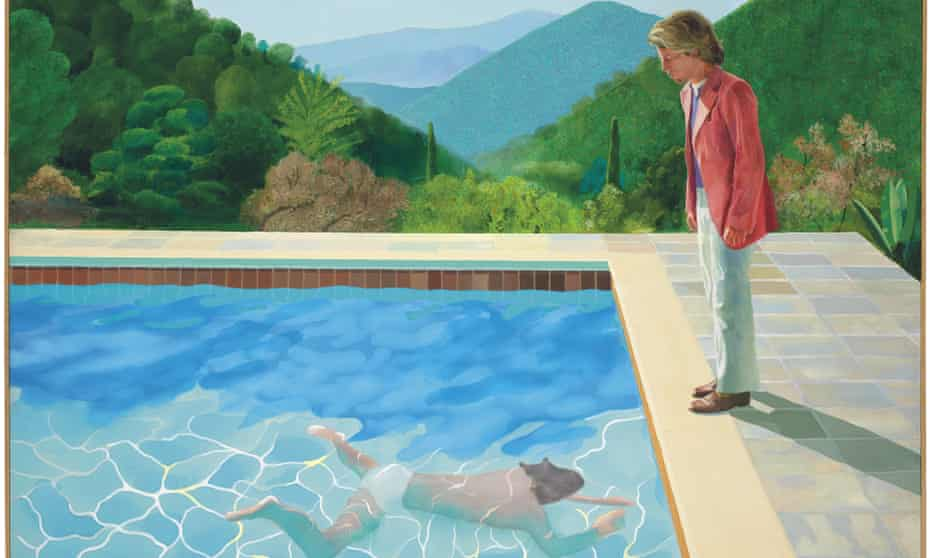 David Hockney's Portrait of an Artist (Pool with Two Figures)