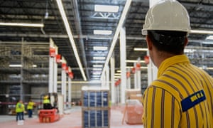 Ikea's second life for furniture initiative is an example of voluntary extended producer responsibility.