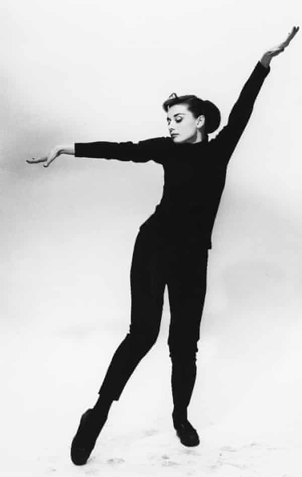 Audrey Hepburn in the 1956 film Funny Face.