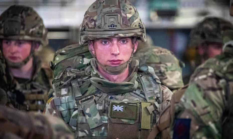 British troops arrive in Afghanistan to help in the evacuation of UK nationals