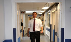 Hunt calls for consensus on 10-year funding deal for NHS with