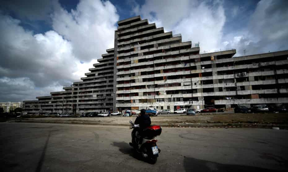 Le Vele di Scampia on the northern outskirts of Naples became a byword for lawlessness.