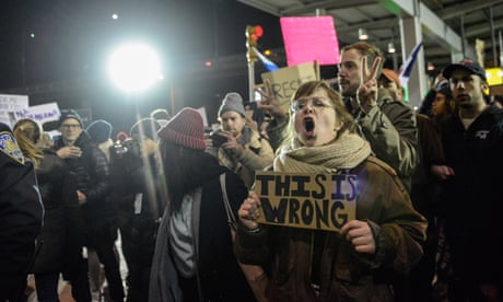 The Muslim ban has brought the US close to constitutional crisis