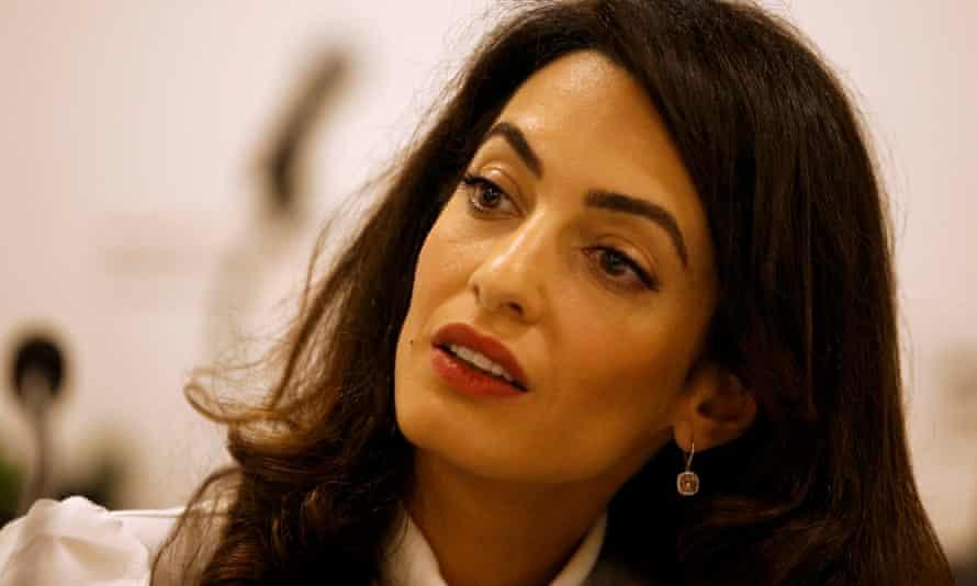 Lawyer Amal Clooney