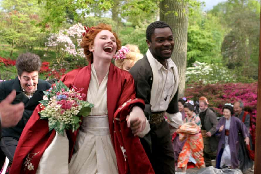 David Oyelowo with Bryce Dallas Howard and Alfred Molina in the 2006 film As You Like It.