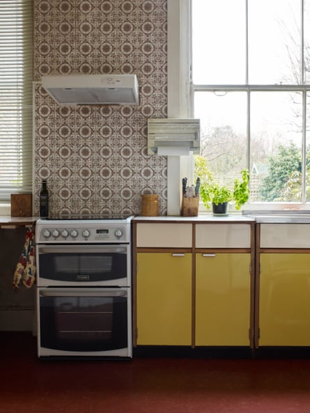 Judith Kerr's kitchen.