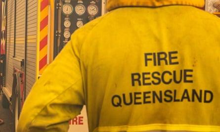 A fire and rescue Queensland uniform