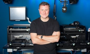 Ben Cooper, controller of Radio 1 photographed inside the Radio 1 studios in central London, September 2016. Commissioned for Guardian Media