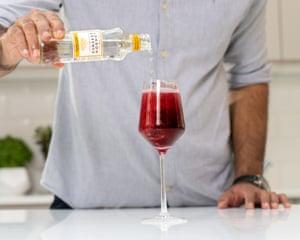 Pritesh Mody's Pinotage Spritz.