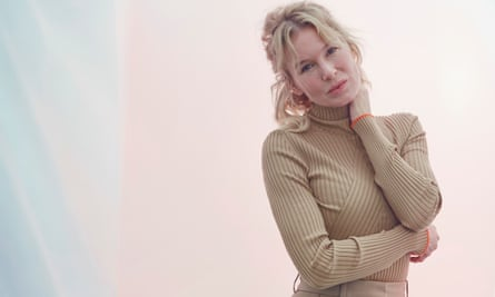Renée Zellweger photographed in London for the Observer New Review.