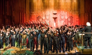 Earnest but enjoyable … The Hogboon by Peter Maxwell Davies, at London's Barbican.