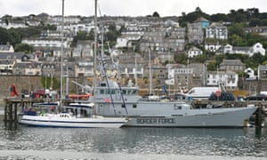 Two tonnes of cocaine seized from boat off Cornwall | UK news | The