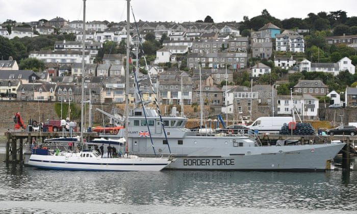 Two tonnes of cocaine seized from boat off Cornwall   UK