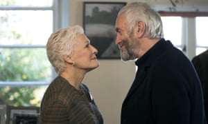 With Jonathan Pryce in The Wife