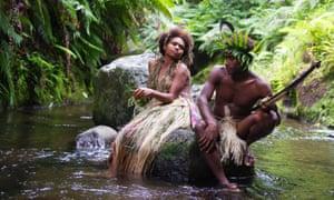 Wawa (Marie Wawa) and Dain (Mungau Dain) in Tanna.
